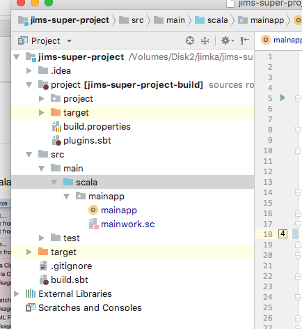 Using IntelliJ with scala - Question - Scala Users