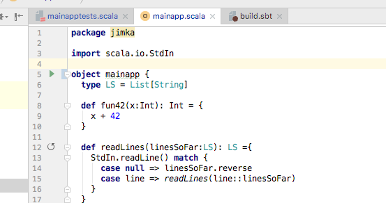 Error: Could not find or load main class - Question - Scala