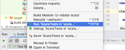 Run all tests in IntelliJ - Question - Scala Users